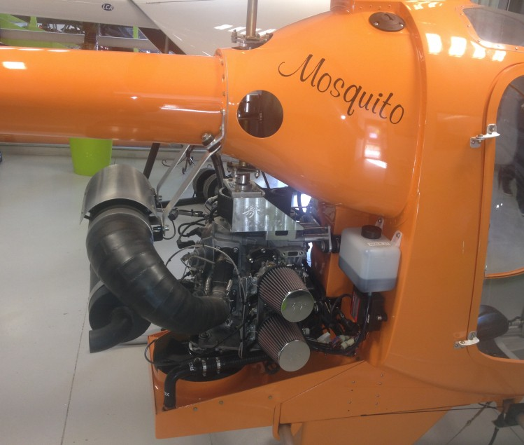 MOSQUITO HELICOPTERE