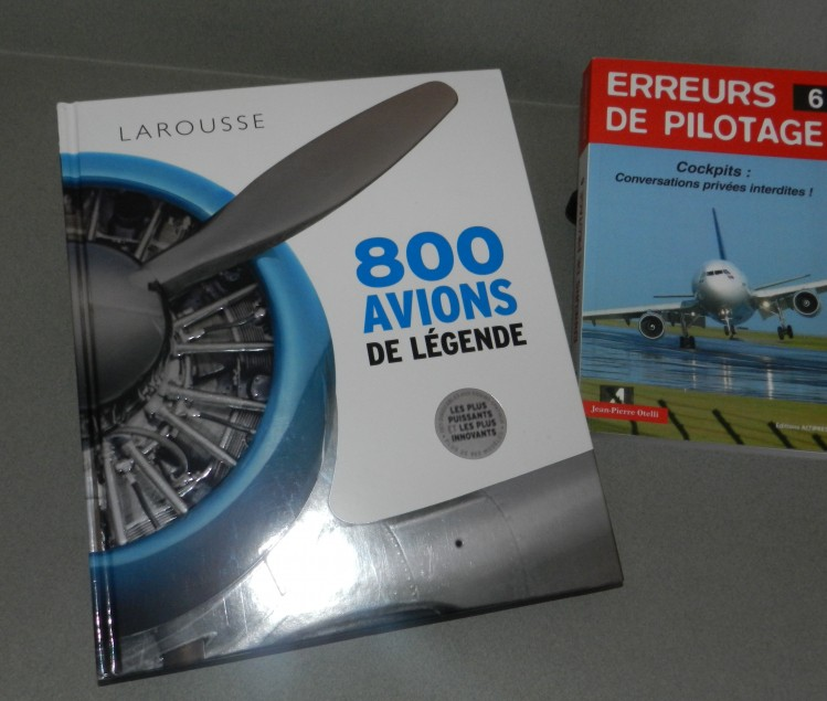 LIVRE SUR L'AVIATION