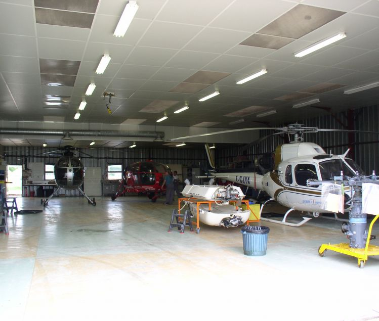 HANGAR AVIATION 907,5 M2