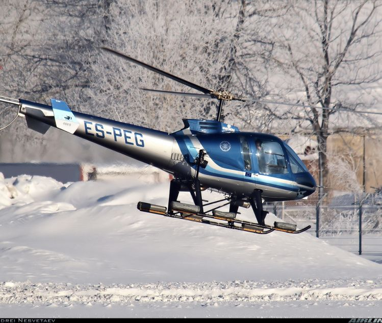 HELICOPTERE ENSTROM 480B